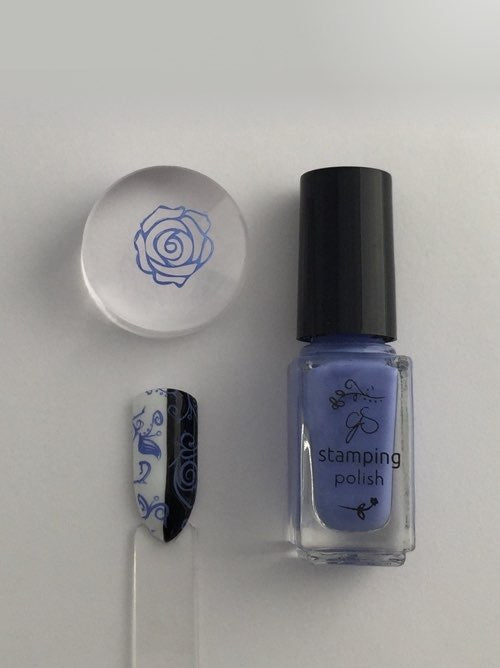 #25 Perry-wink-le - Nail Stamping Color