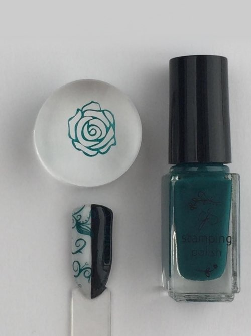 #39 Teal or no Deal! - Nail Stamping Color
