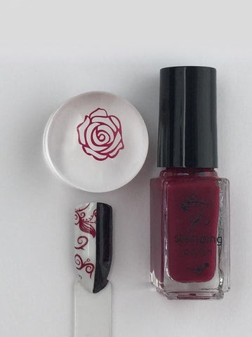 #40 Pass the Pinot - Nail Stamping Color