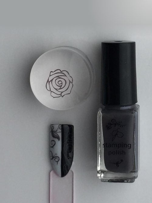 #42 Slate Gray - Nail Stamping Color