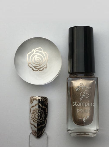 #51 Bring On the Bubbly! - Nail Stamping Color