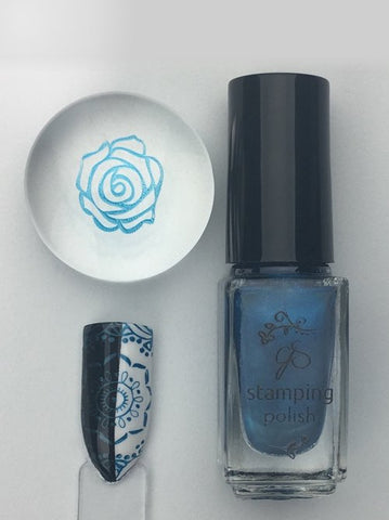 #52 Jazz Not Blues - Nail Stamping Color