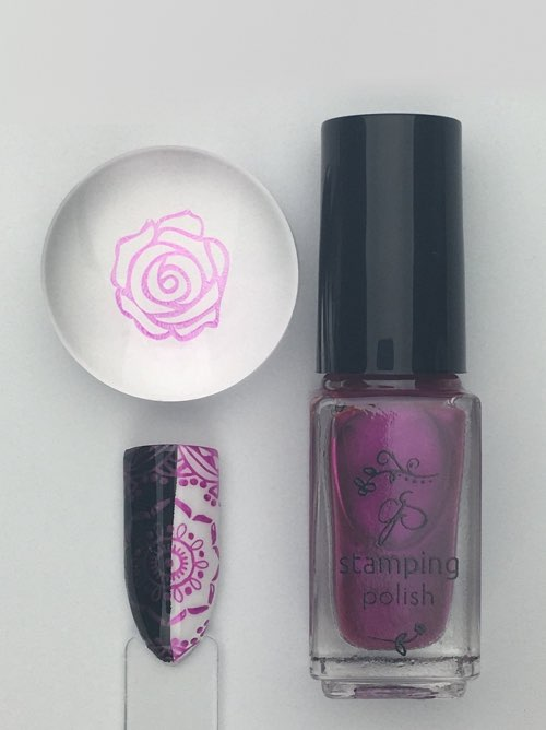 #53 Gossip Girl - Nail Stamping Color