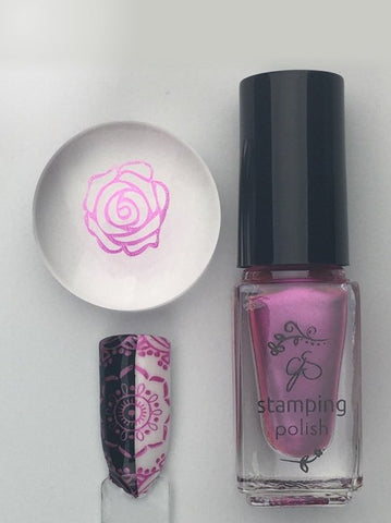 #54 I'm a Barbie Girl - Nail Stamping Color