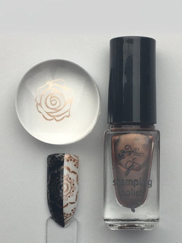 #56 Salted Caramel - Nail Stamping Color