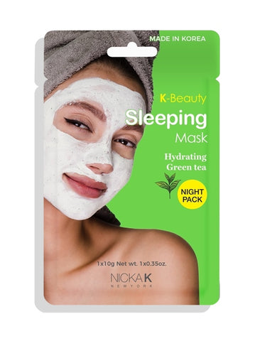 K-Beauty Facial Sleeping Mask Hydrating Green Tea