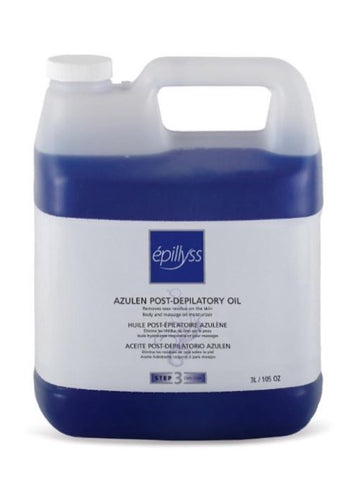 Azulen post-depilatory oil