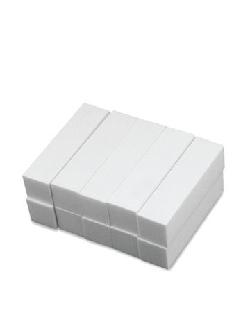 Premium white buffer blocks