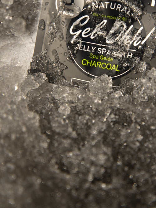 Gel-Ohh! Jelly spa bath - Charcoal