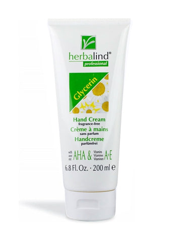 Glycerin hand cream fragrance free