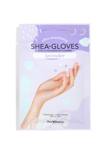 Avry Beauty Shea Gloves Lavender