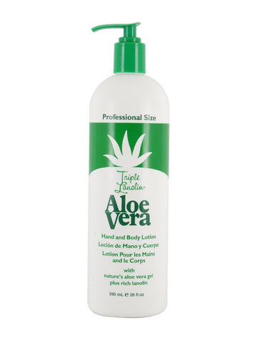 Aloe vera hand and body lotion