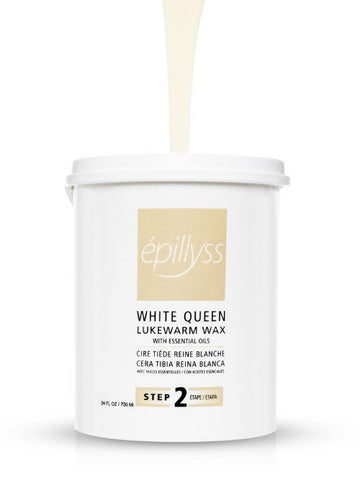 White queen lukewarm wax
