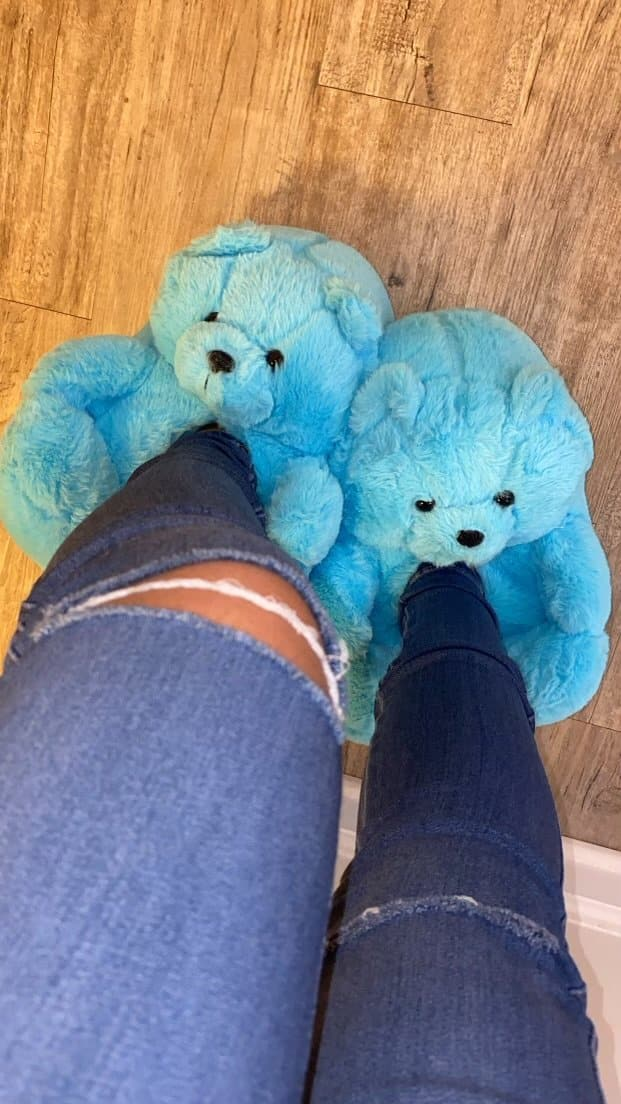 Teddy Slippers (Slippers Only)