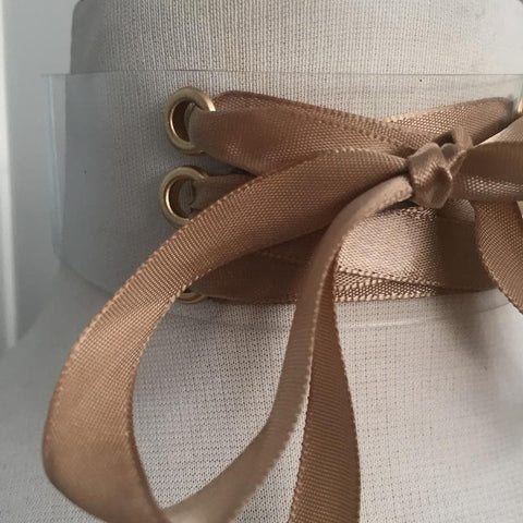 Dolly Choker- Taupe