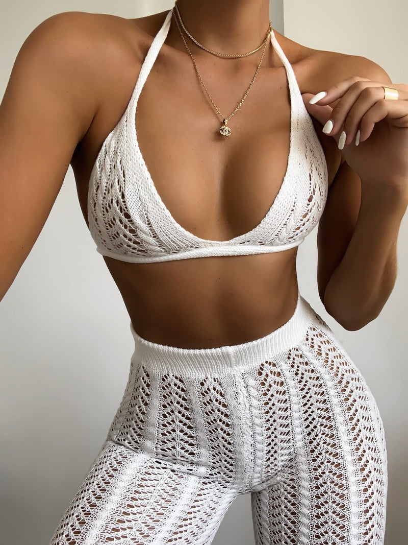 Crochet Set White