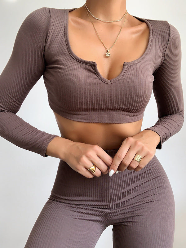 Fall Ribbed Set