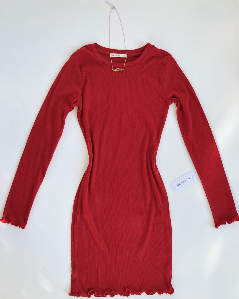 Melody Dress- Red