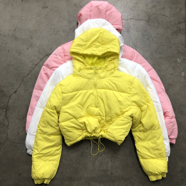 Puffer Jacket (Lemon)