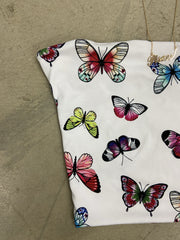Butterfly Tube Top