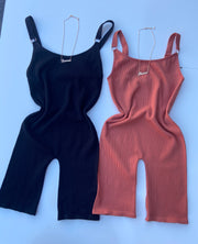 Shelby Romper (Black)