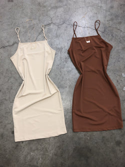 Cami Dress (Gingerbread)