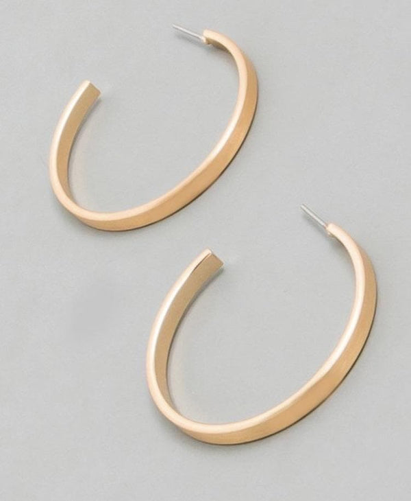 Cindy hoop earrings