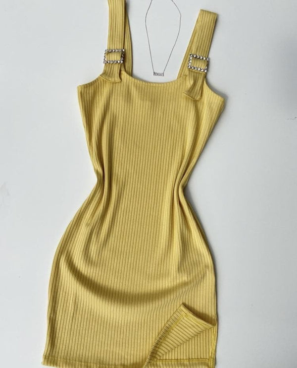 Hella Yella Dress