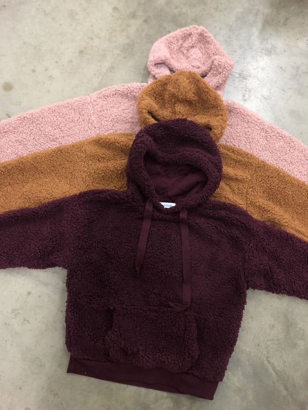 Teddy Pullover (Wine)