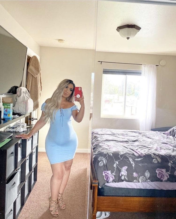 Nessa Dress (Baby Blue)