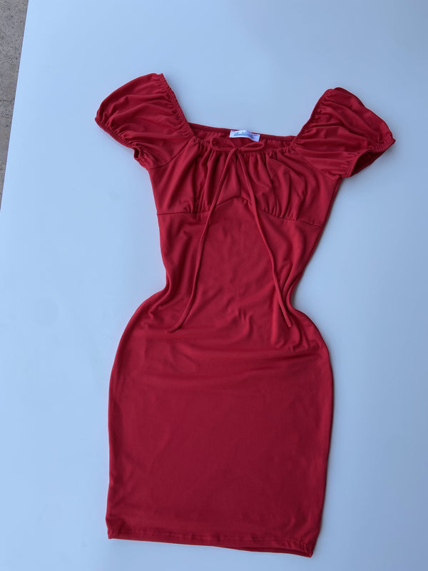 Nessa Dress (Red)
