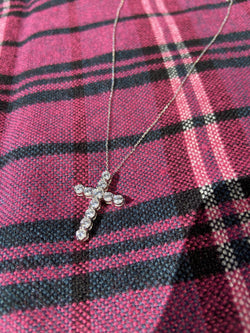 Cross Necklace (silver)