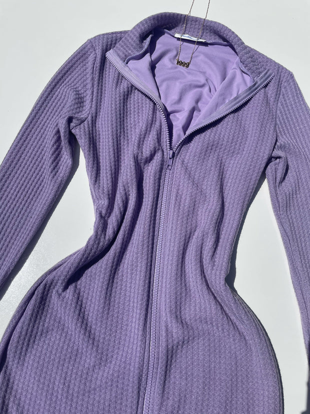 Honeycomb dress (Lilac)