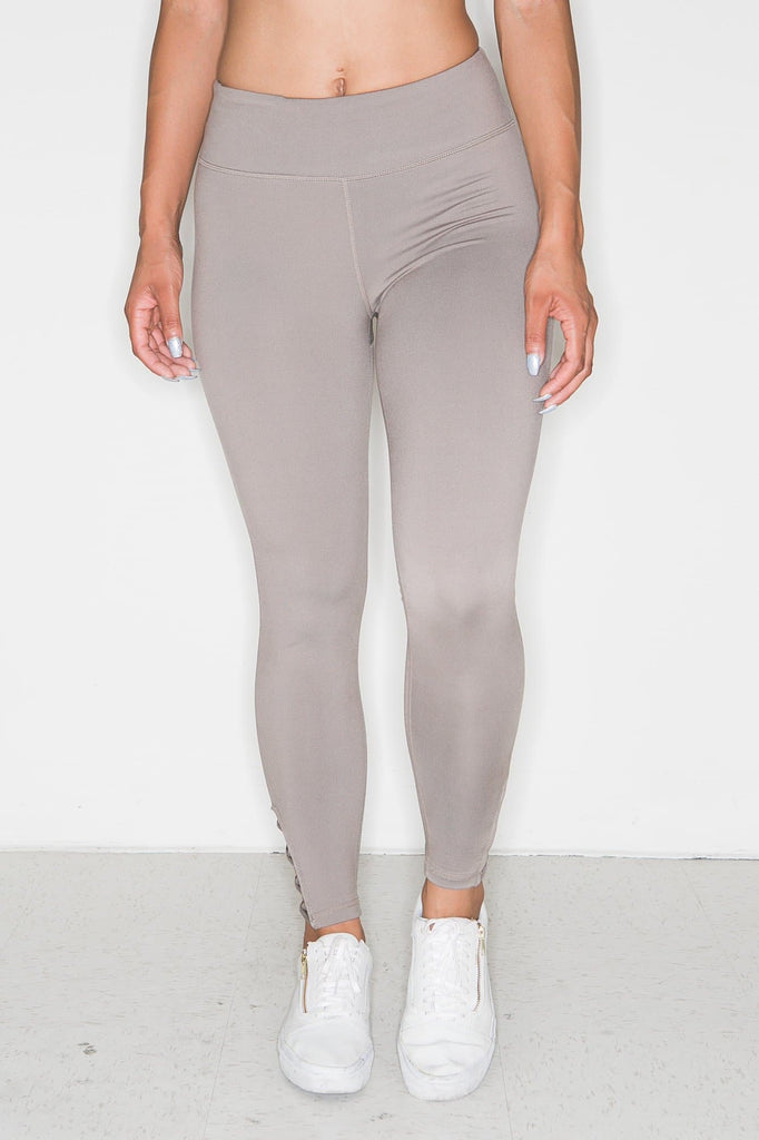 Mocha Cut Out Leggings