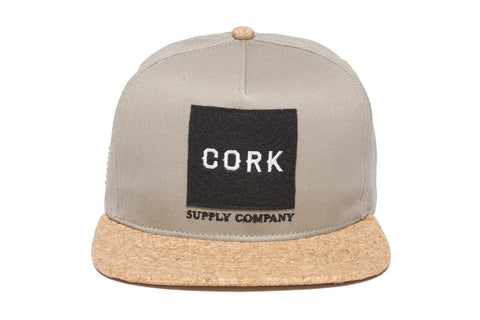 Cork Supply Co Grey/Black - Hat