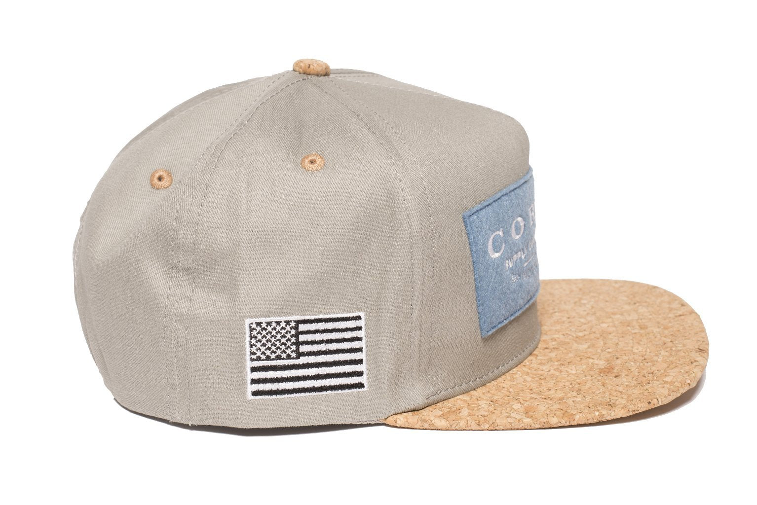 Cork Supply Co Grey/Blue - Hat