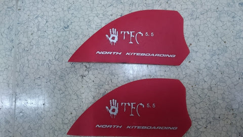 North Kiteboarding Fin 5.5 (Set of 2)
