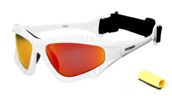 Ocean Australia White Revo Polarized Sunglasses