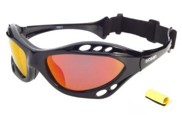 Ocean Combuco Matte Black Revo Polarised Sunglasses