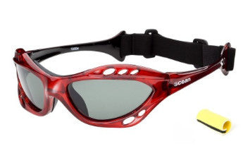 Ocean Combuco Red Polarized Sunglasses