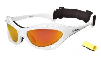 Ocean Combuco White Revo Polarized Sunglasses