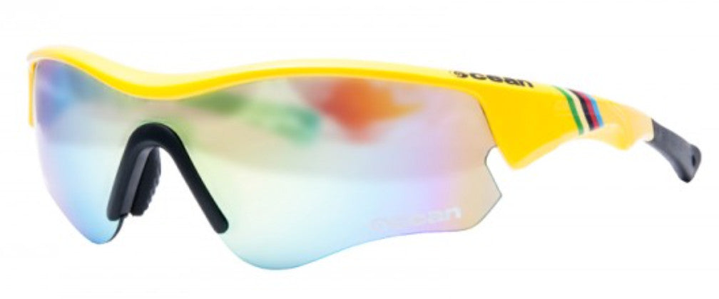 Ocean Iron Polarised Sunglasses - Yellow/Blue