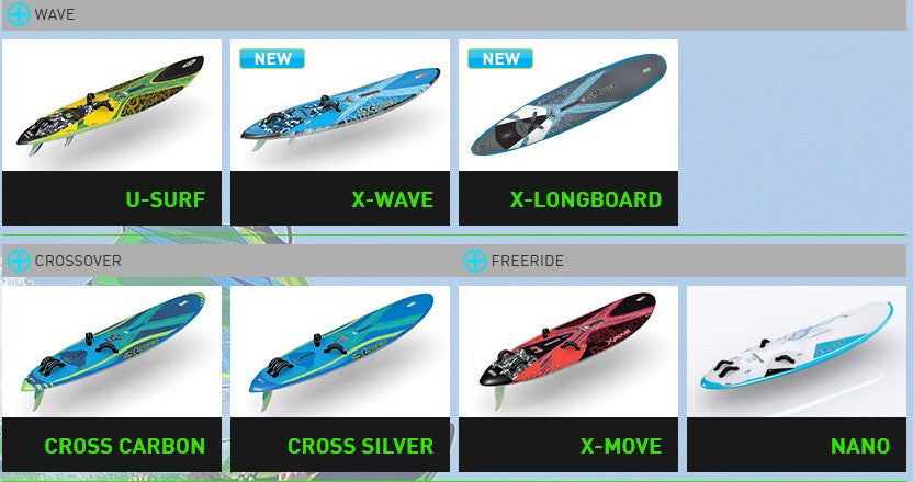 Exocet Windsurfing Boards