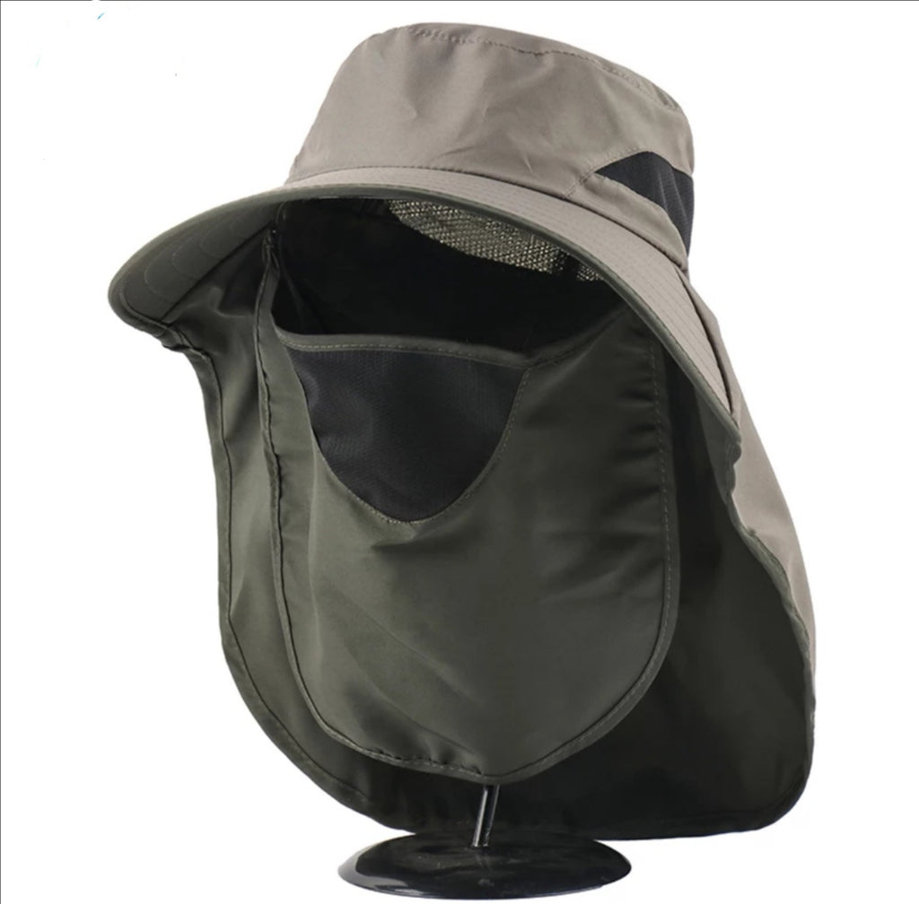Sun Hat with Face & Neck Shield