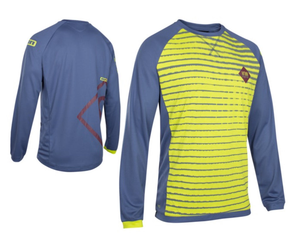 ION Scrub Amp Long-Sleeved 3/4 MTB Men's Jersey (Medium)