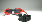Uranium Kitesurfing Red Polarized Sunglasses with Adjustable Straps