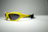 Uranium Kitesurfing Yellow Polarized Sunglasses with Adjustable Straps