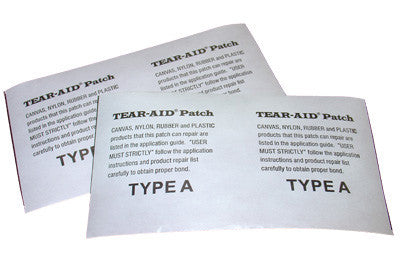 "Tear Aid Bladder Patch (6"" x 3"")"