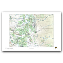 Load image into Gallery viewer, Outdoor Project Colorado Wall Map