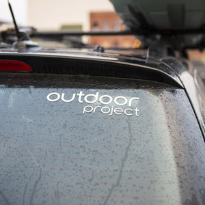 Outdoor Project Transfer Sticker